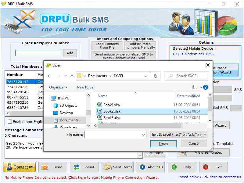 SMS Marketing Software screenshot